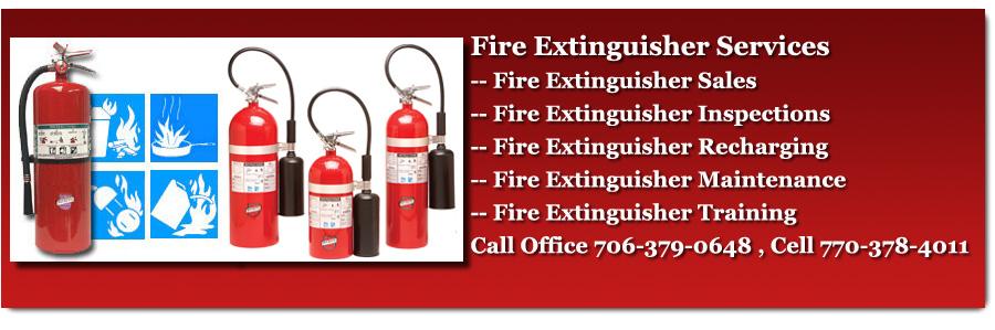Fire Extinguishers Sales & Service Georgia